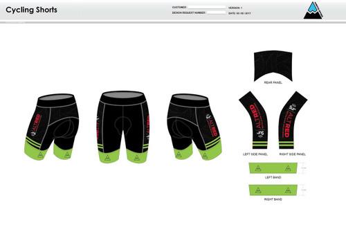 Lycoming Tri Club Youth Cycling Shorts