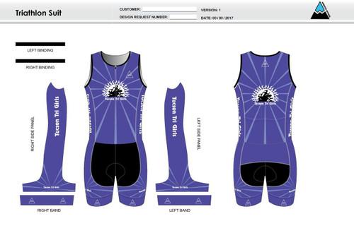 Tucson Youth Sleeveless Tri Suit