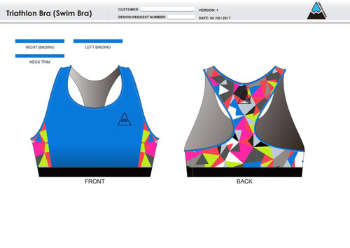 Kona Qualified Triathlon Bra