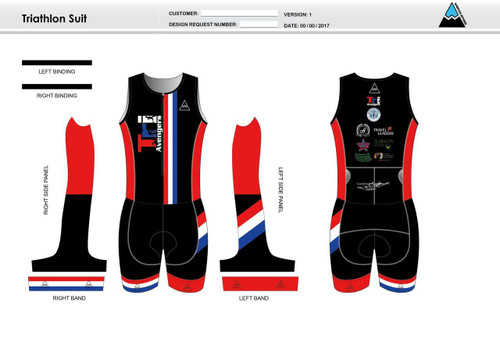 Tri Avengers Youth Sleeveless Tri Suit
