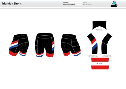 Tri Avengers Men's Tri Shorts