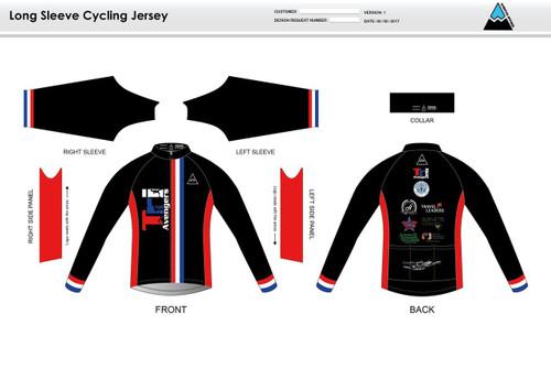 Tri Avengers Long Sleeve Cycling Jersey