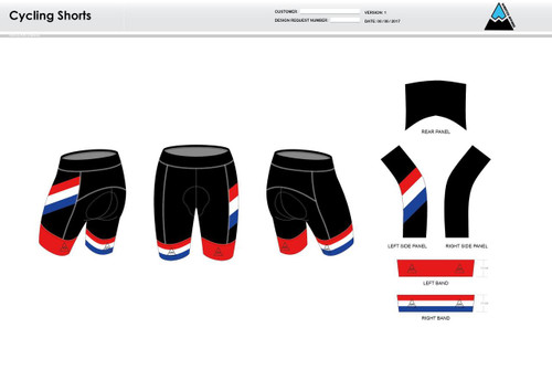 Tri Avengers Cycling Shorts