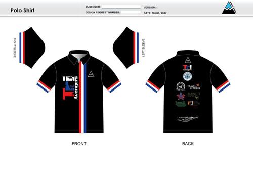 Tri Avengers Youth Polo Shirt