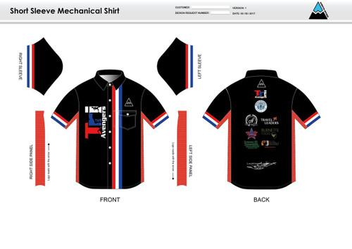 Tri Avengers Youth Mechanic Shirt