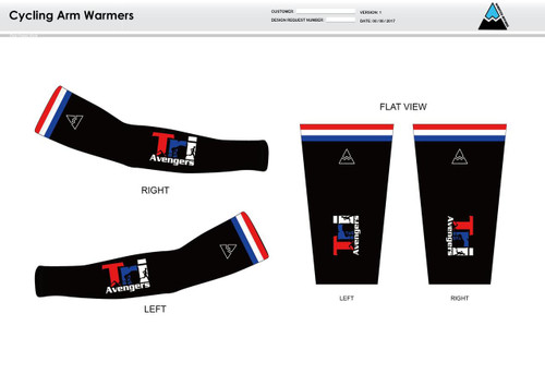 Tri Avengers Cycling Arm Sleeves
