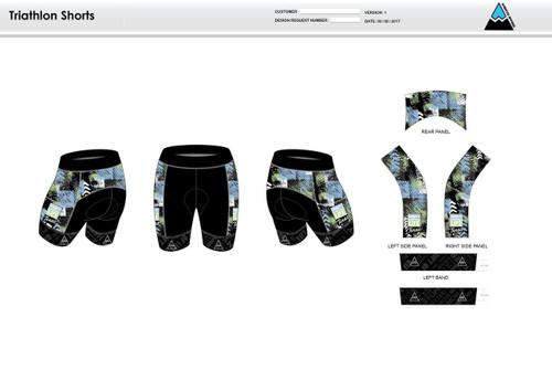 Donate Life Men's Tri Shorts