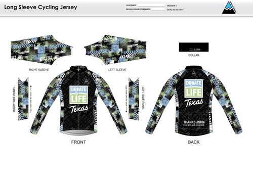 Donate Life Long Sleeve Cycling Jersey