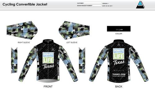 Donate Life Convertible Jacket
