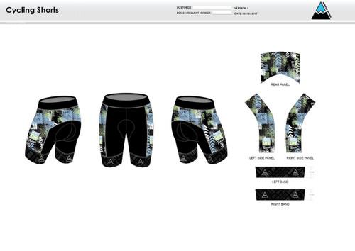 Donate Life Cycling Shorts