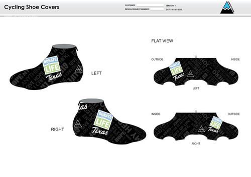 Donate Life Cycling Shoe Covers