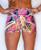 Pink Graffiti Women's Compression Fitness Shorts