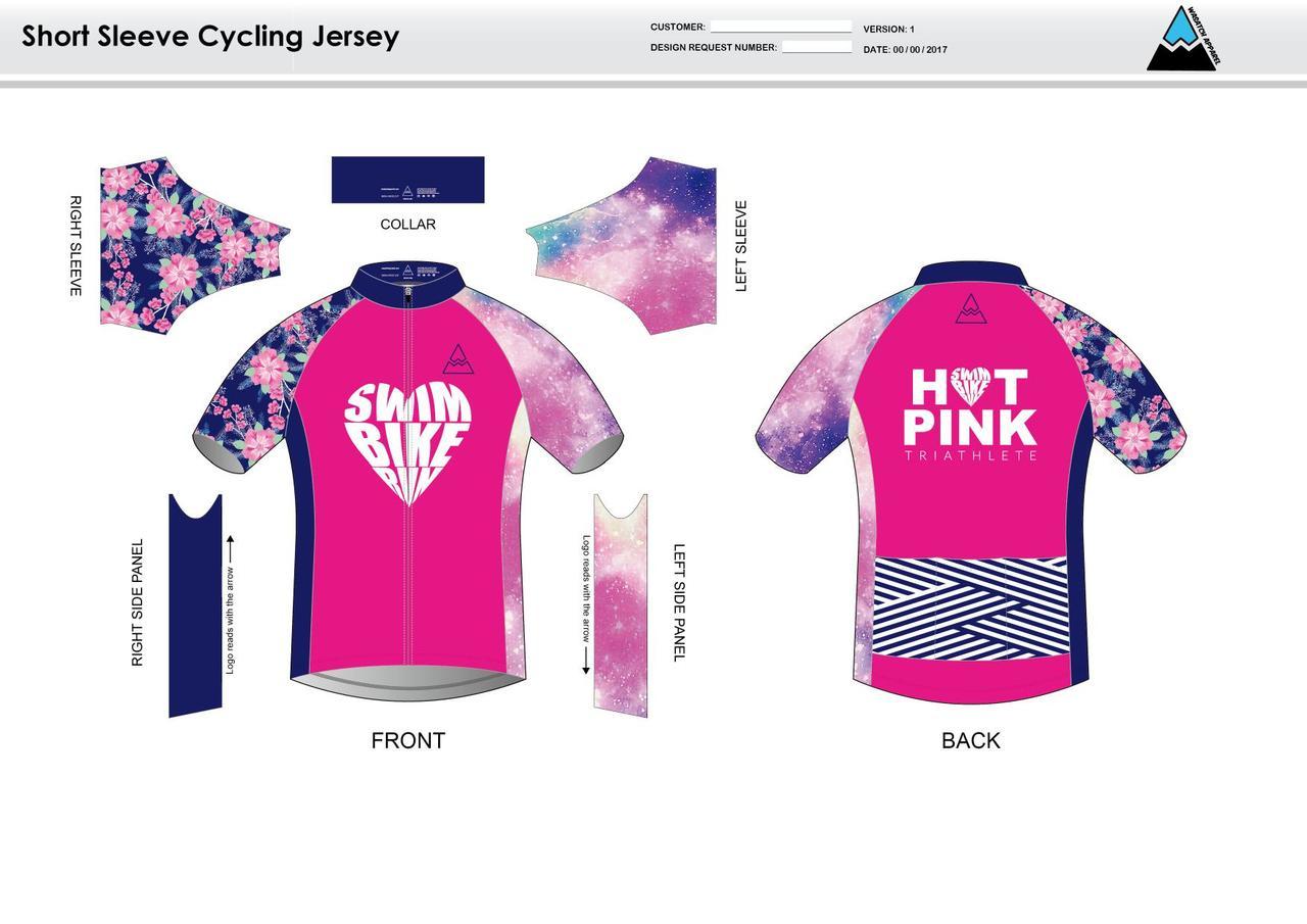 38a721b426 HPT Short Sleeve Cycling Jersey - Wasatch Apparel