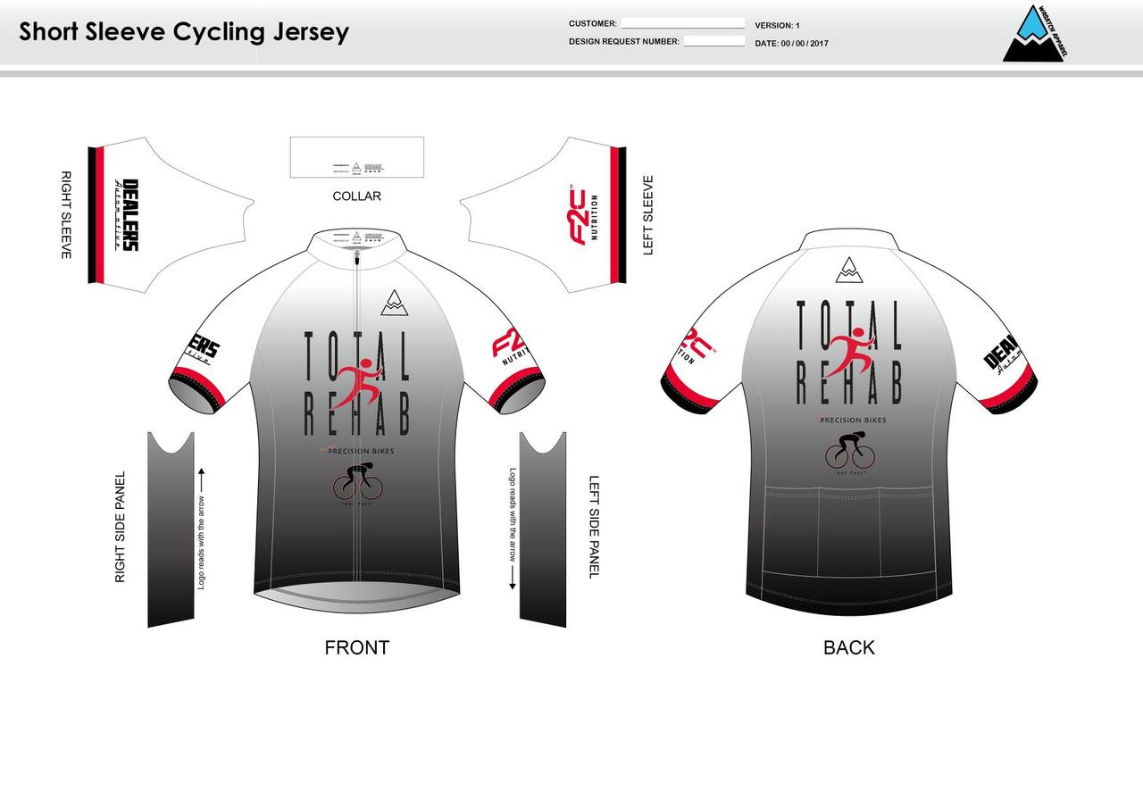 newest e1a11 6be08 Carr Short Sleeve Cycling Jersey