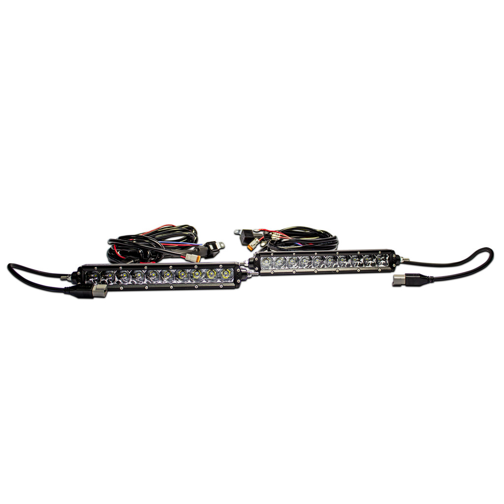 LED Light Bar 10″ Single Row Pair