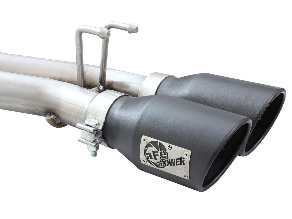 "aFe POWER 49-48054-B Rebel Series 2-1/2"" 409 Stainless Steel Cat-Back Exhaust System"