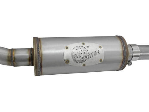 "aFe POWER 49-48056-B Rebel Series 2-1/2"" 409 Stainless Steel Cat-Back Exhaust System"