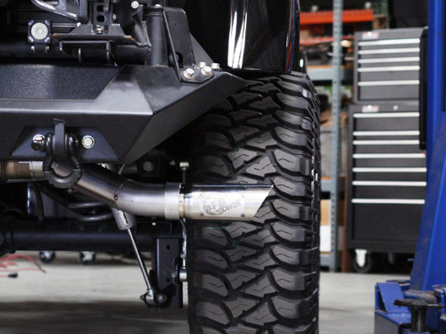 """aFe POWER 49-46211 MACH Force-Xp 3"""" 409 Stainless Steel Cat-Back Exhaust System"""