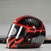 Bell Eliminator Outlaw Gloss Black/Red Helmet