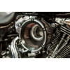 Trask Assault Charge High-Flow Air Cleaner for 1999-2017 Harley Twin Cam* - Reverse Cut