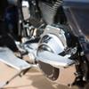 Thrashin Supply Bagger Passenger Floorboards for Harley - Aluminum