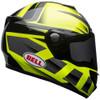 Bell SRT Helmet - Predator Gloss Hi-Viz Green/Black