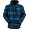 Z1R Timber Flannel Hooded Shirt - Black/Blue