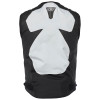 Speed and Strength Insurgent Leather/Textile Vest - Black/White