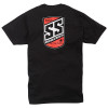 Speed and Strength Shield T-Shirt - Black