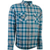 Highway 21 Marksman LE Flannel Shirt - Grey/Blue