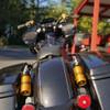 Kraus Remote Reservoir Mounts for Harley Touring