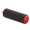 Arlen Ness Knurled Shifter Peg for Harley - Red
