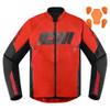 Icon Hooligan Jacket - Red