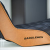 Saddlemen Step Up Seat for Harley Dyna - Custom Design