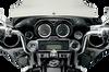 Drag Specialties Chrome Speaker Bezels for 1996-2013 Harley Touring