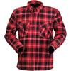 Z1R Duke Flannel Shirt - Red/Black/White