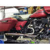 Sawicki Speed Shop Stainless Mid Length Cannon Exhaust for 2017-2021 Harley Touring