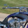 Arlen Ness Rad II Teardrop Micro Mirrors - Chrome