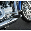 Arlen Ness Knurled Fusion Foot Pegs for Harley - Chrome