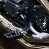 Thrashin Supply P-54 Foot Pegs for Harley - Black