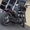 Bung King Passenger Peg Crash Bar/Frame Slider for 2018 Harley Softail Models