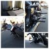 Bung King Passenger Peg Crash Bar for 2006-Up Harley Dyna