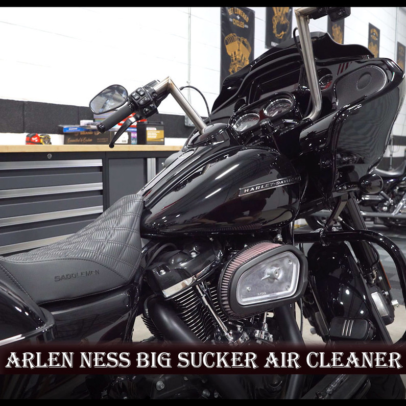 Arlen Ness Big Sucker Air Cleaner - 2020 Road Glide - Install/Dyno