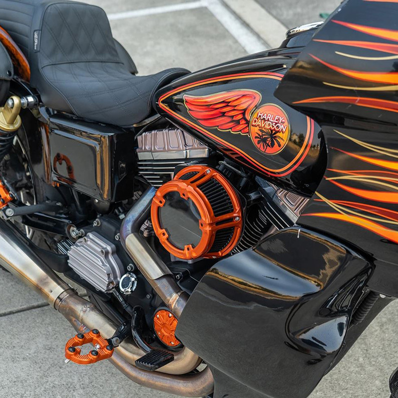 New Arlen Ness Air Cleaners - Sidekick, Method and  Clear Tear Style