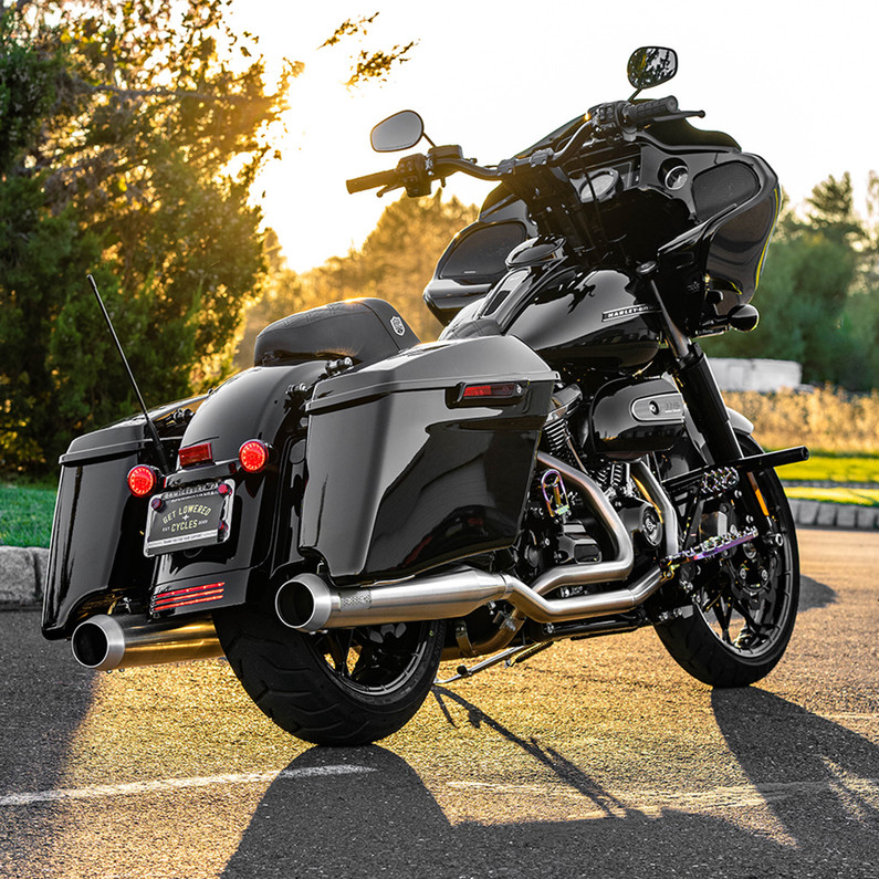 Bassani True-Duals Stainless Exhaust - 2020 Harley Road Glide