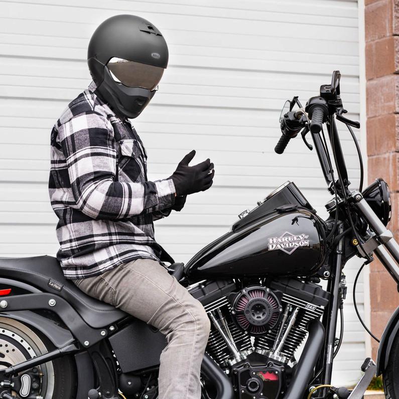 Bell Broozer Helmet - DOT & ECE Approved