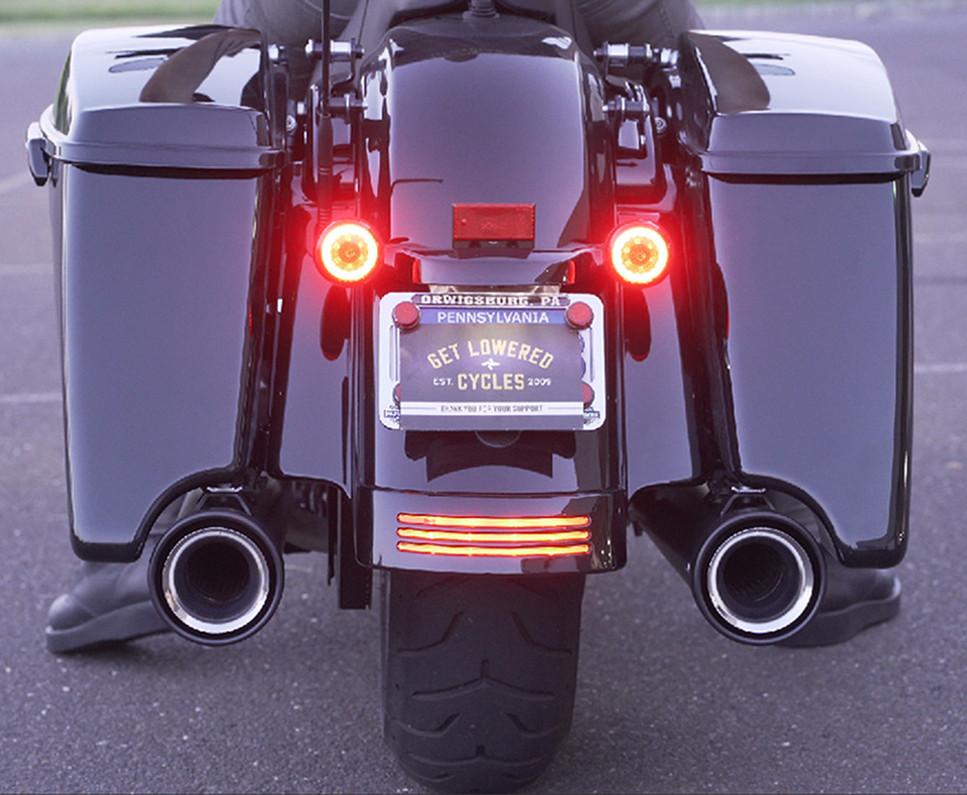 Cobra Neighbor Hater Slip-On Mufflers - 2020 Harley Road Glide