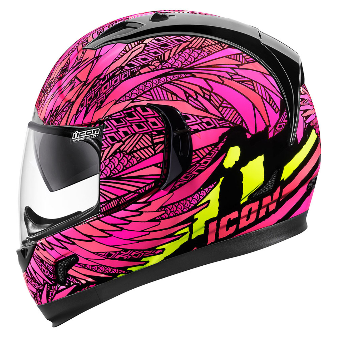 Icon Alliance GT Bird Strike Helmet - Pink