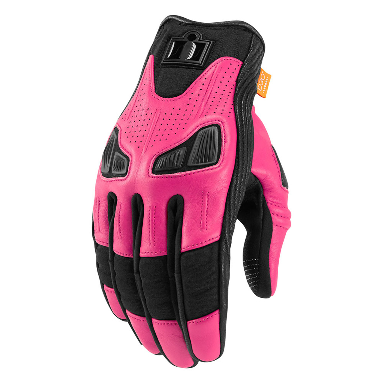 Icon Automag Women s Gloves - Pink - Get Lowered Cycles 1082fb2c42