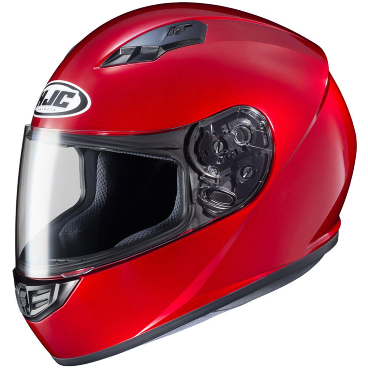 af8c5511 HJC CS-R3 Candy Red Helmet - Get Lowered Cycles